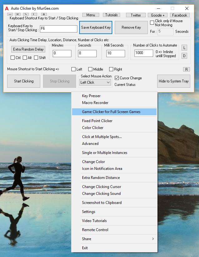 Auto Clicker for Windows 10